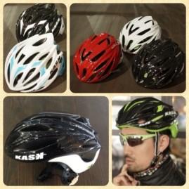 KASK(カスク) カスクは多数のベンチレーションを備え軽量なためロードバイクに乗る方に人気のブランド。 かぶっていることを忘れるフィット感をぜひ。