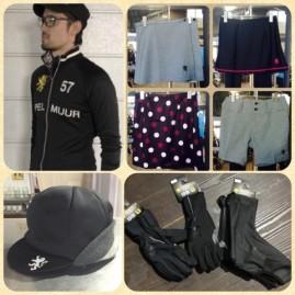 KAPELMUUR(カペルミュール) 東京発のサイクルアパレルブランド。 街乗りにも合わせやすいカジュアルなデザインが特徴。 男女兼用のジャケット類の他、女性向けのスカートやパンツも多数扱っています。