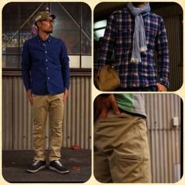 narifuri(ナリフリ) シャツやデニム、チノパンなど 定番のデザインのサイクルウェアが豊富です。 普段着にも着られるシルエットが魅力的。