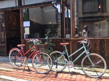 【tokyobike】かわいい街乗りカスタム