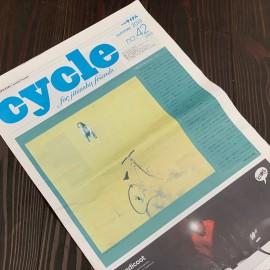 【メディア掲載】フリーペーパー「cycle」